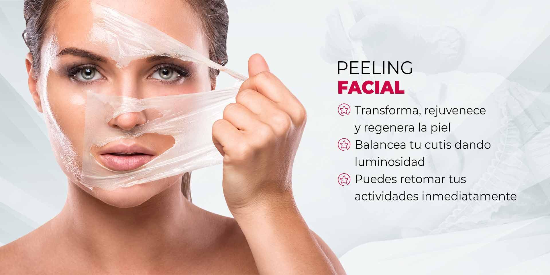 Peeling Facial en CDMX