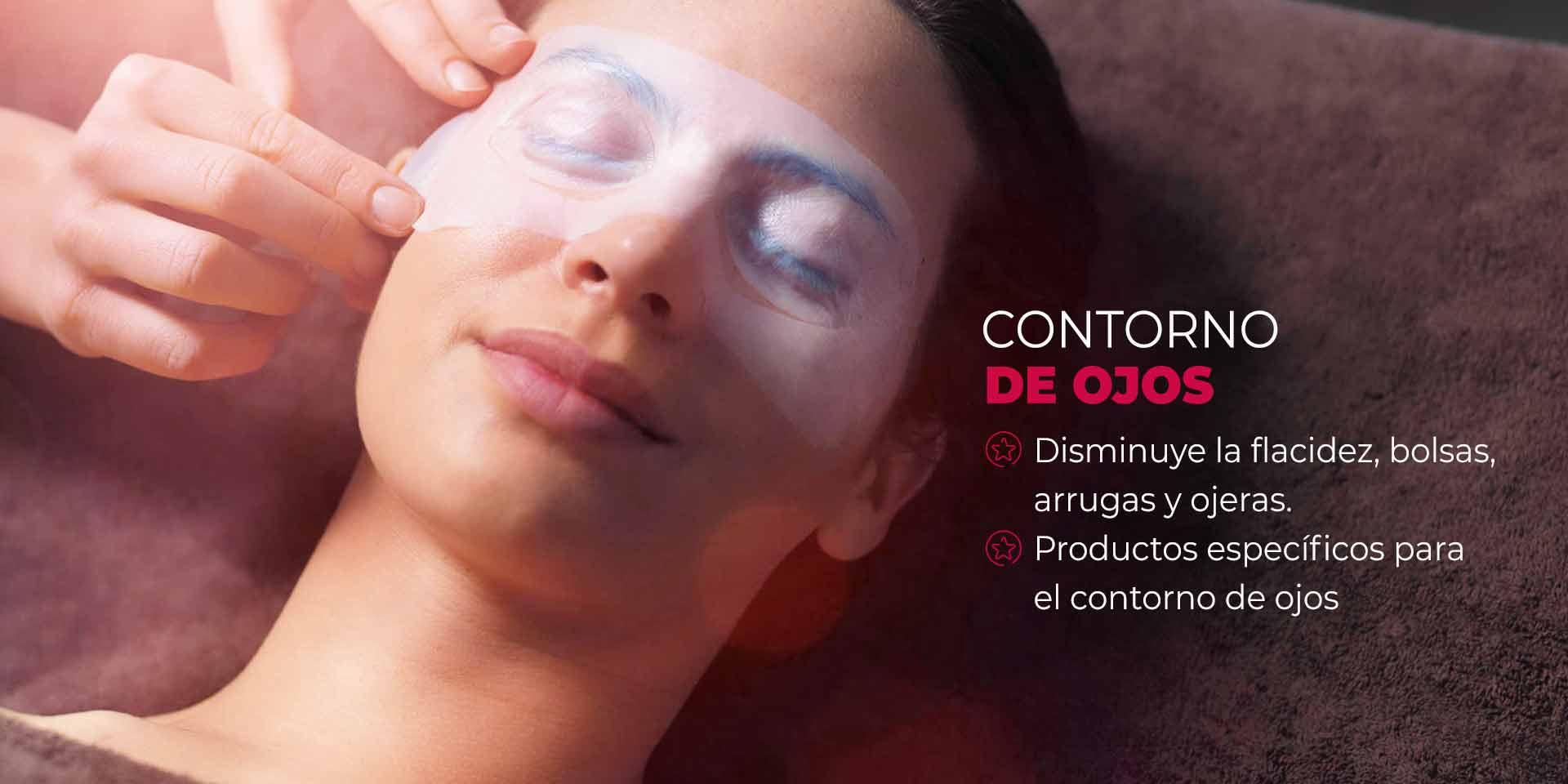 Tratamiento anti-envejecimiento para el contorno de ojos