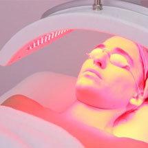 fototerapia para tratamiento anti-edad