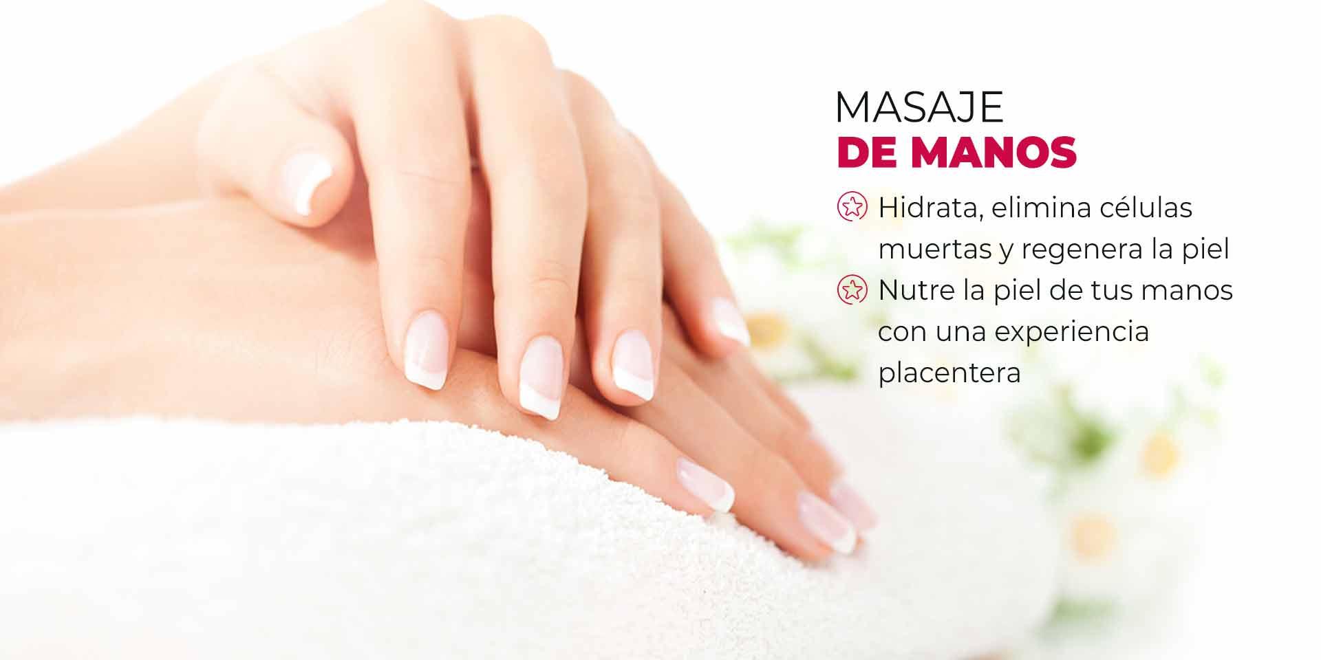 masaje de manos en CDMX