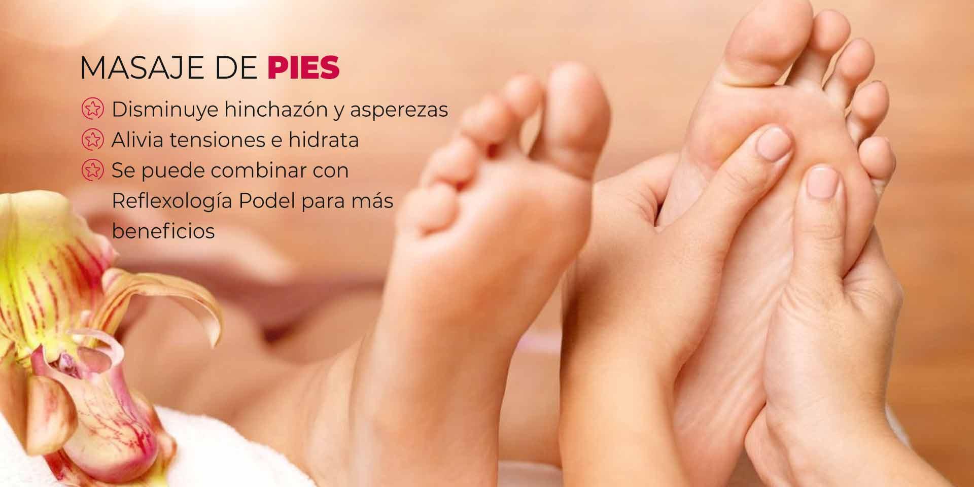 masaje de pies en CDMX
