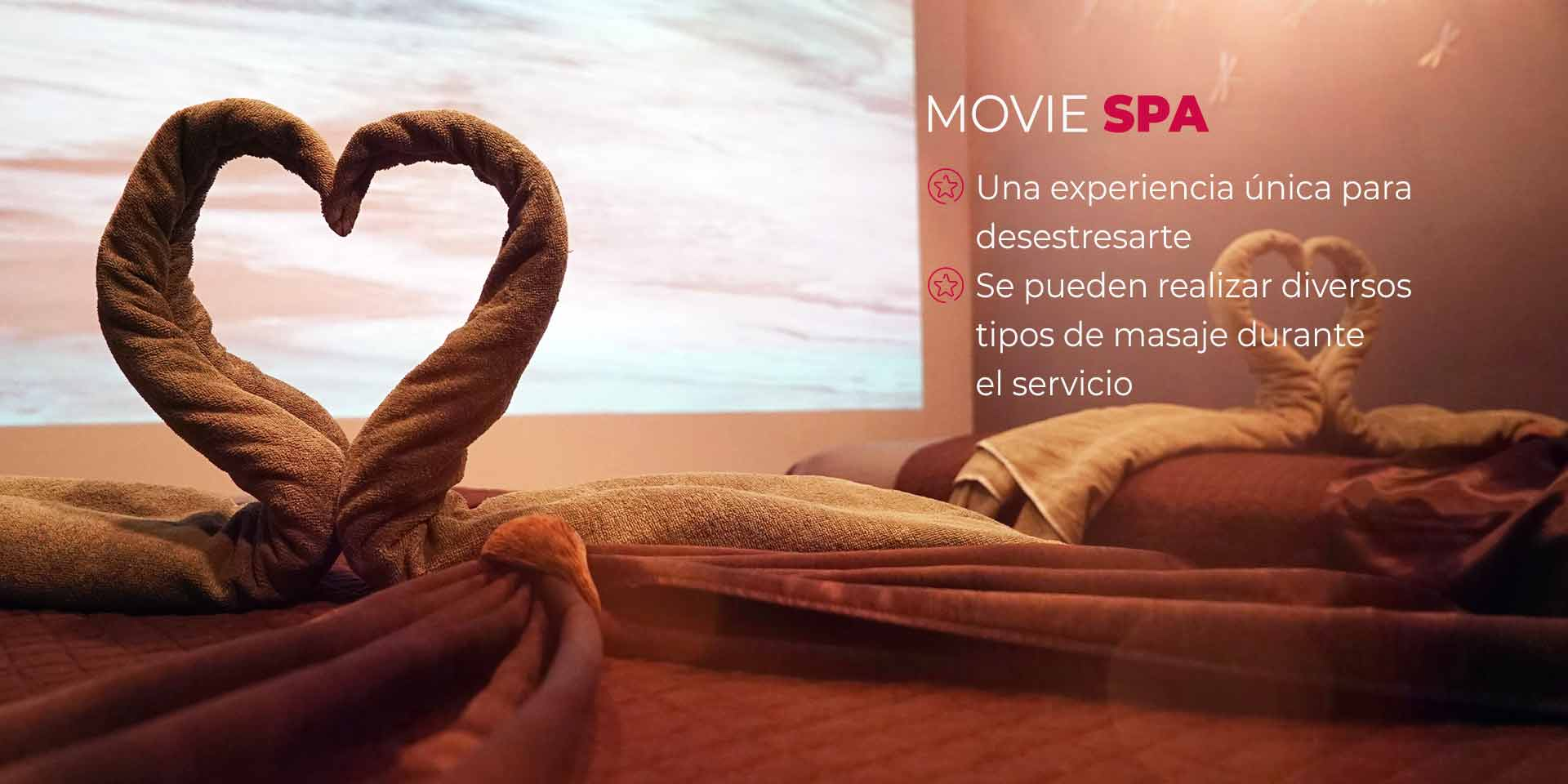 Movie Spa en CDMX