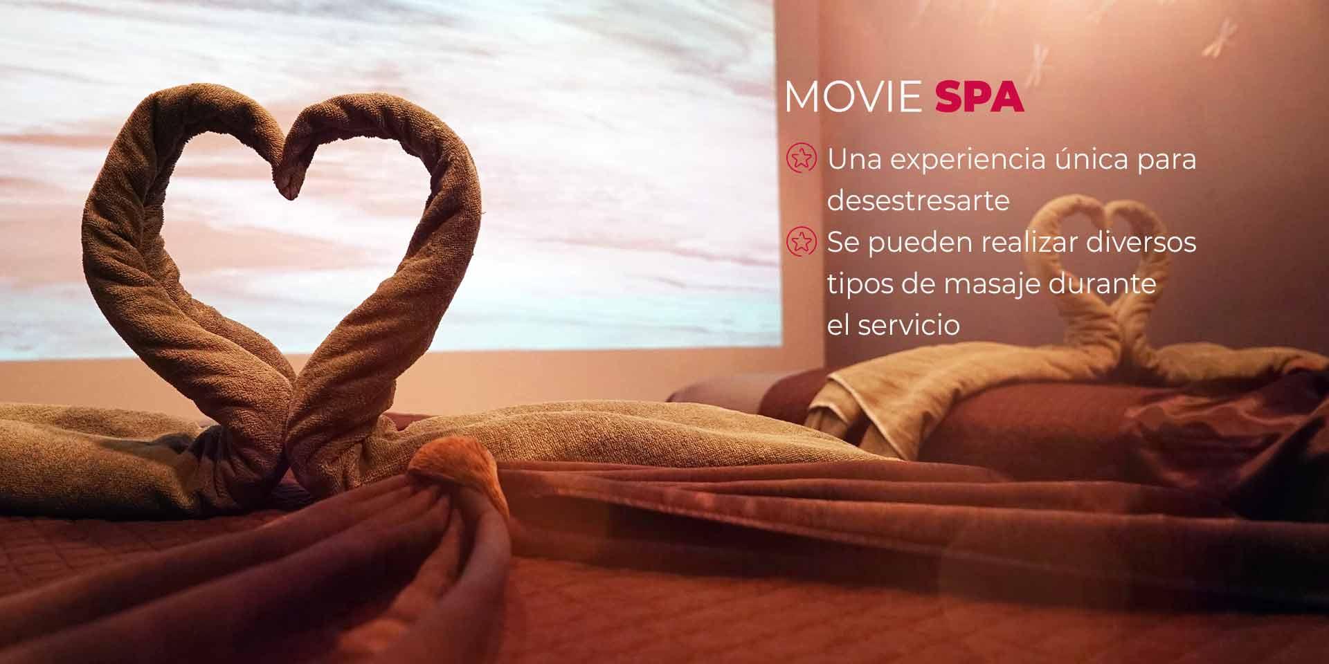 Movie Spa en CDMX
