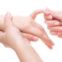 masaje de manos