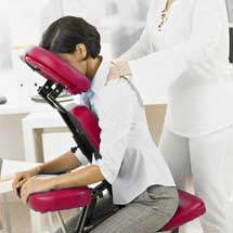 masaje en silla shiatsu